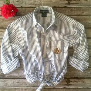 Ralph Lauren 🐎 EUC! • Long Sleeve Button Down Top